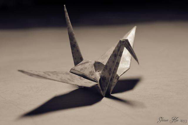 『折り鶴』