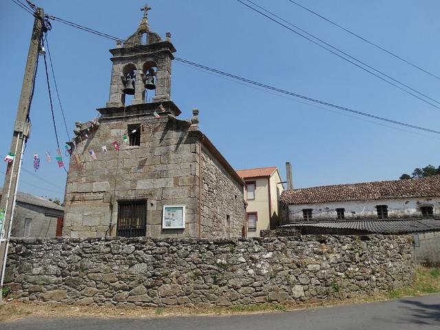 Iglesia de Santo Estevo de Lires en Cee