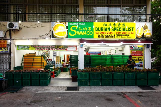 Sinnaco Durian Specialist Petaling Jaya