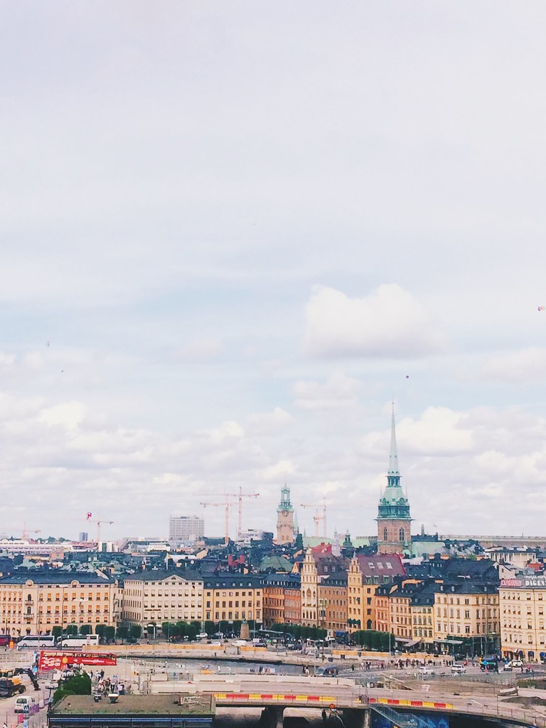 Stockholm i juli