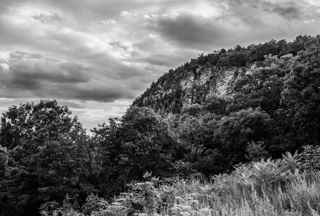 Cliffs Under The Clouds