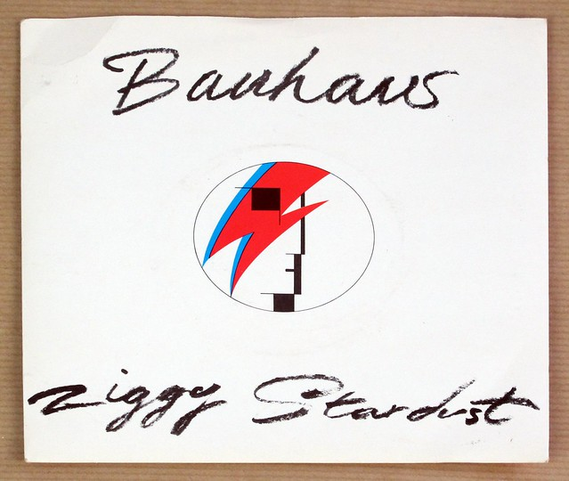 "BAUHAUS ZIGGY STARDUST / THIRD UNCLE ORIG UK 7"" PS SINGLE VINYL"