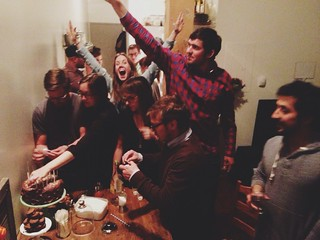 How many drunk people does it take to light 25 candles? | by Ashlae | oh, ladycakes