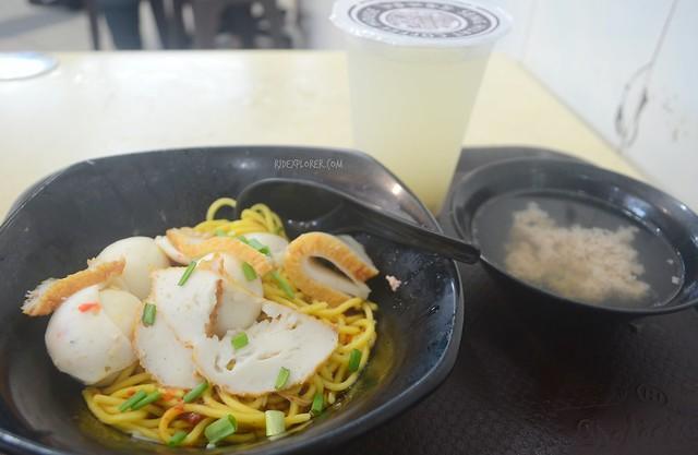 fishball noddle soup singapore food