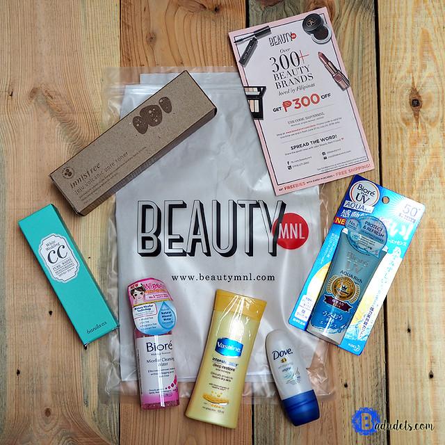 beautymnl shopping haul
