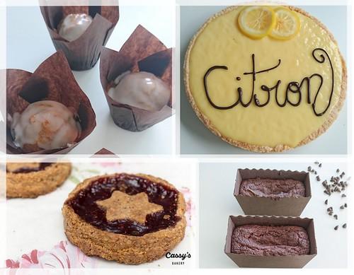 Cassy's bakery sans gluten sans lactose