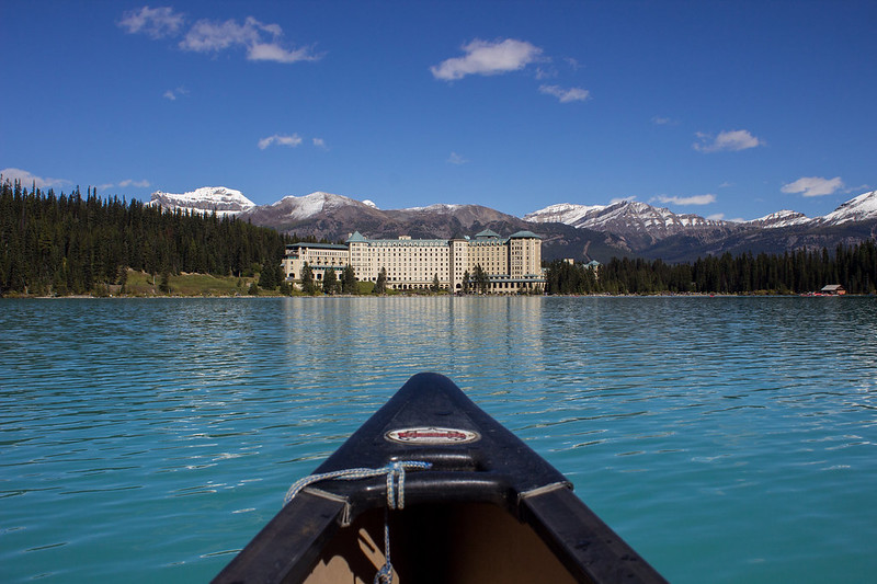 Lake Louise and Chateau Fairmont