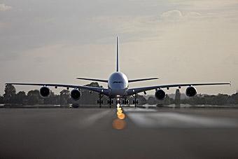 Air France A380 en pista (Air France)