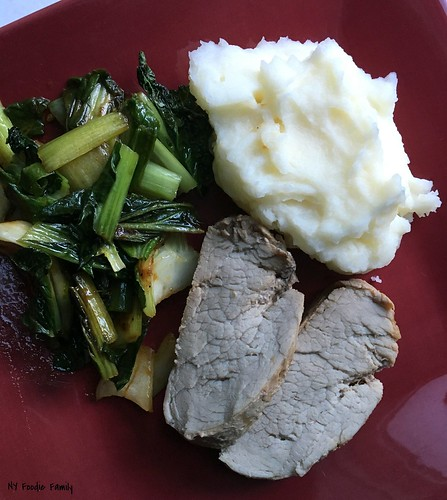 Pork Loin and Mashed Potatoes
