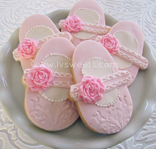 Pink Baby Shoes Favors