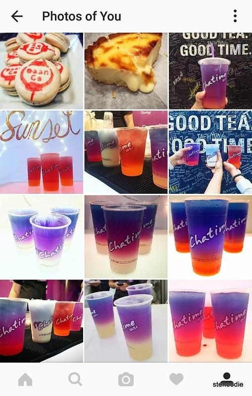 same photos at an instagram event