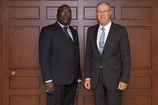 WIPO Director General Meets Senegal's Minister for Culture | by WIPO | OMPI