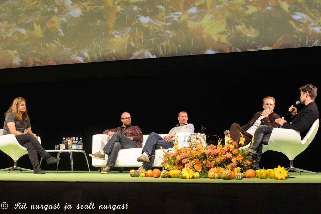 Panel discussion at Sauce2015 in Tallinn