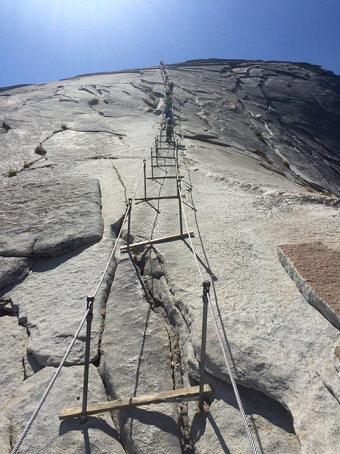 Half Dome Cable close-up