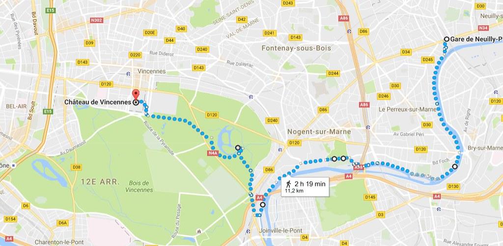 Neuilly Plaisance - Château de Vincennes
