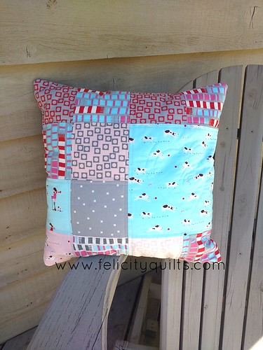Sherbet Pips Cushion Front