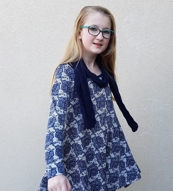 Groove dress in ponte from Super Cheap Fabrics
