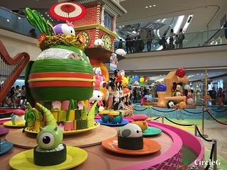 CIRCLEG 九龍塘 又一城 DISNEY TSUM TSUM 壽司 「Disney Tsum Tsum Walk N Roll Festival (6)