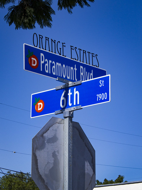 Orange Estates signs