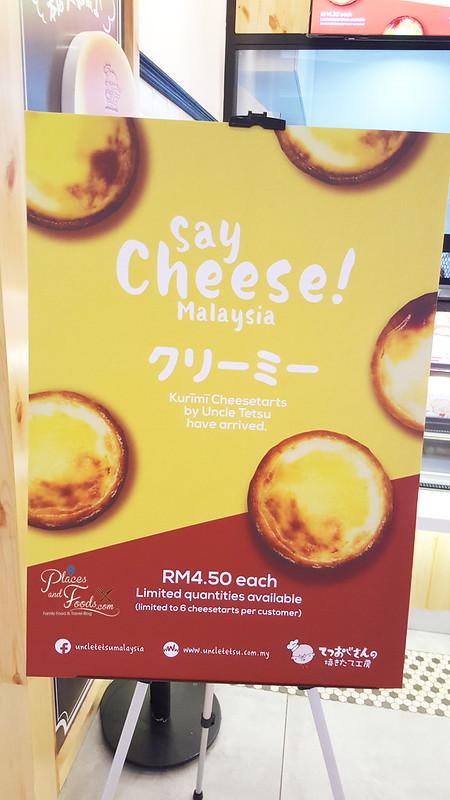 uncle tetsu cheese tart malaysia price