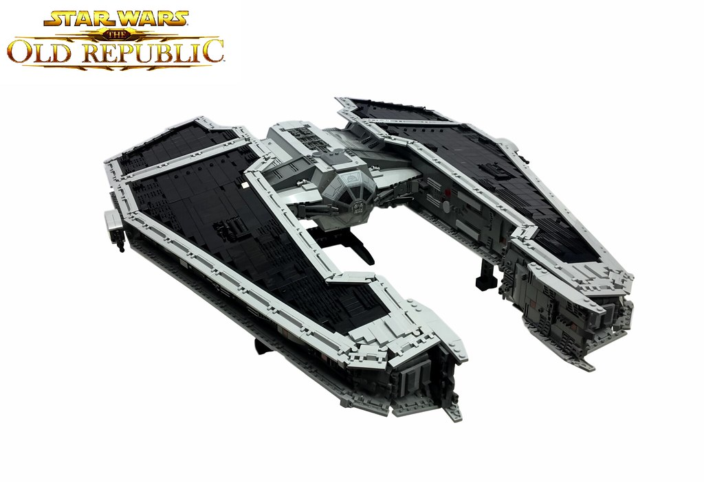 Sith Fury Class Interceptor, by markus1984, on Eurobricks