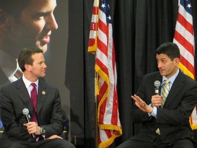 Congressmen Paul Ryan and Aaron Schock