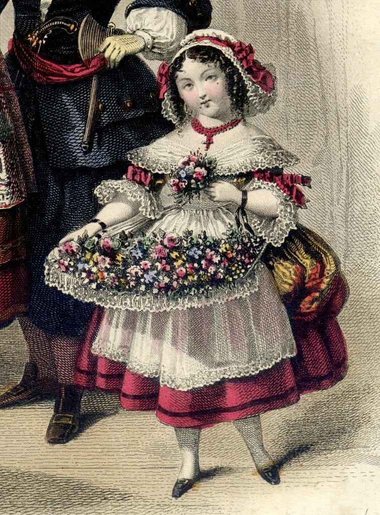 Bouquetière Louis XV