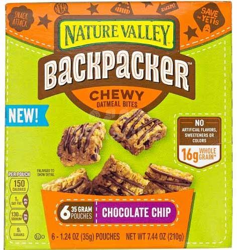 Nature Valley Backpacker Bites