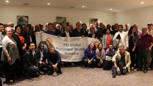 PSI/EPSU Global Municipal Workers' Network Meeting