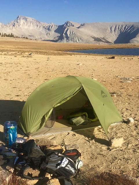 Bighorn Plateau Campsite