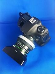 Zenza Bronica Zenzanon EII 75mm f/2.8 DIY Tilt/Shift lens on Canon EOS 7D