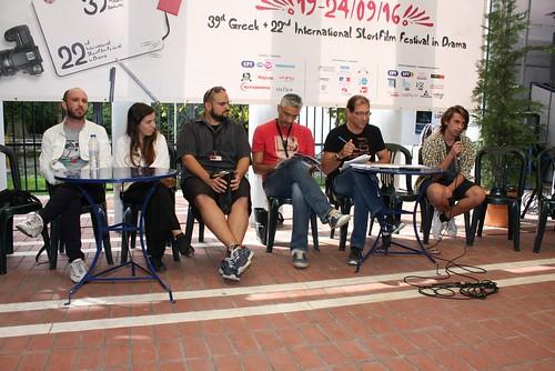 Παρουσίαση Σκηνοθετών, Τετάρτη 21 Σεπτεμβρίου 2016