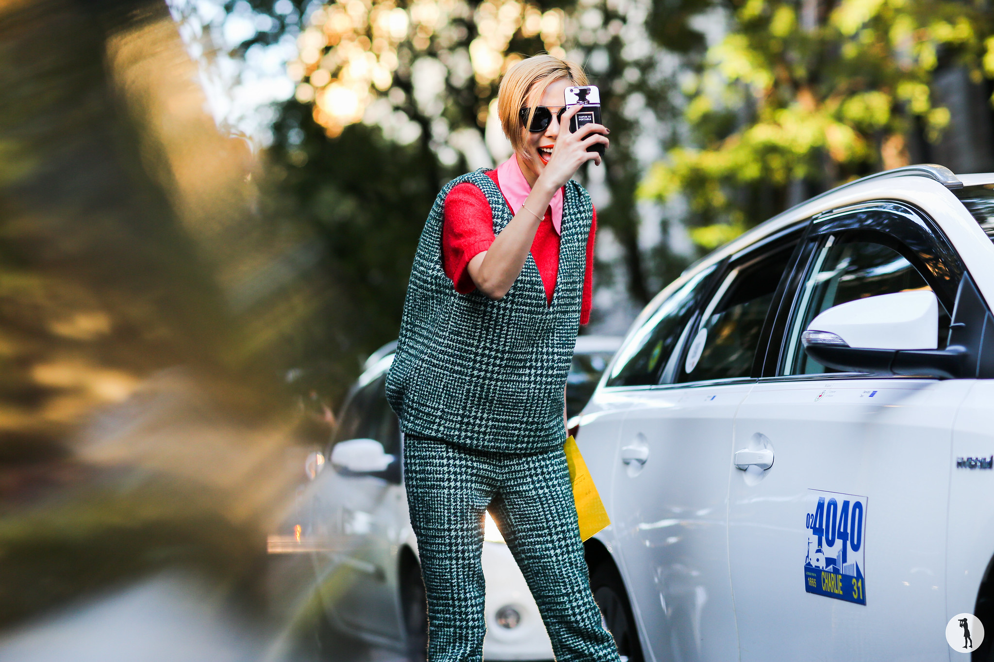 NaYoung Keem at Milan Fashion Week