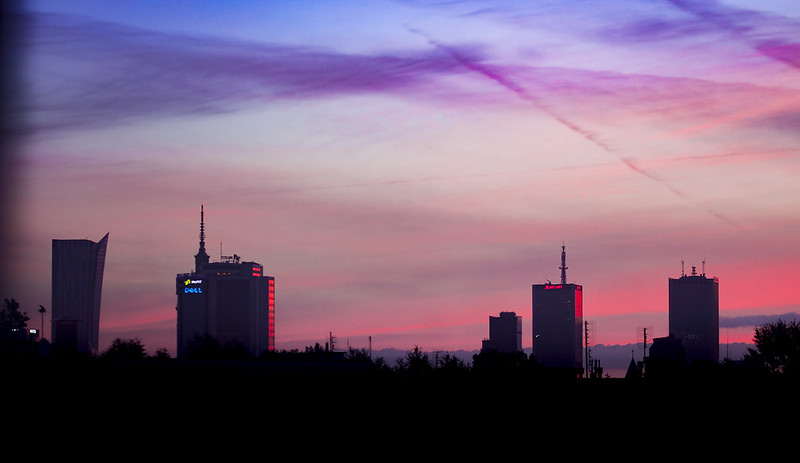 Morning @ Warsaw Cityscape