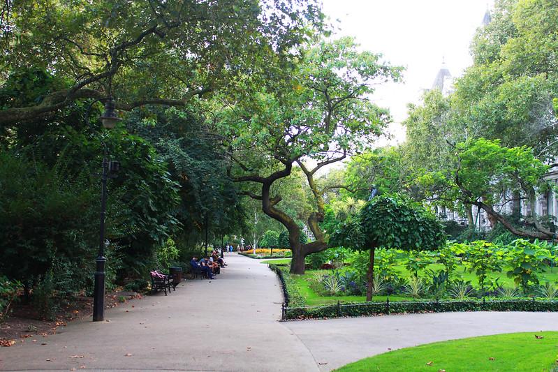 Lontoo päivä 2 5 puisto