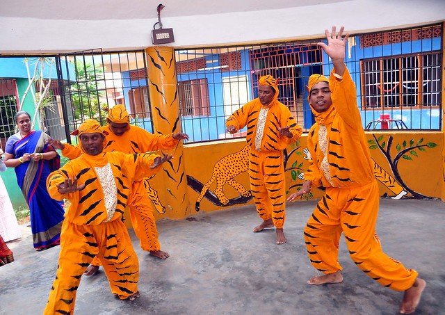 Tiger Dance Therapy