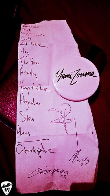 yumi zouma setlist-2