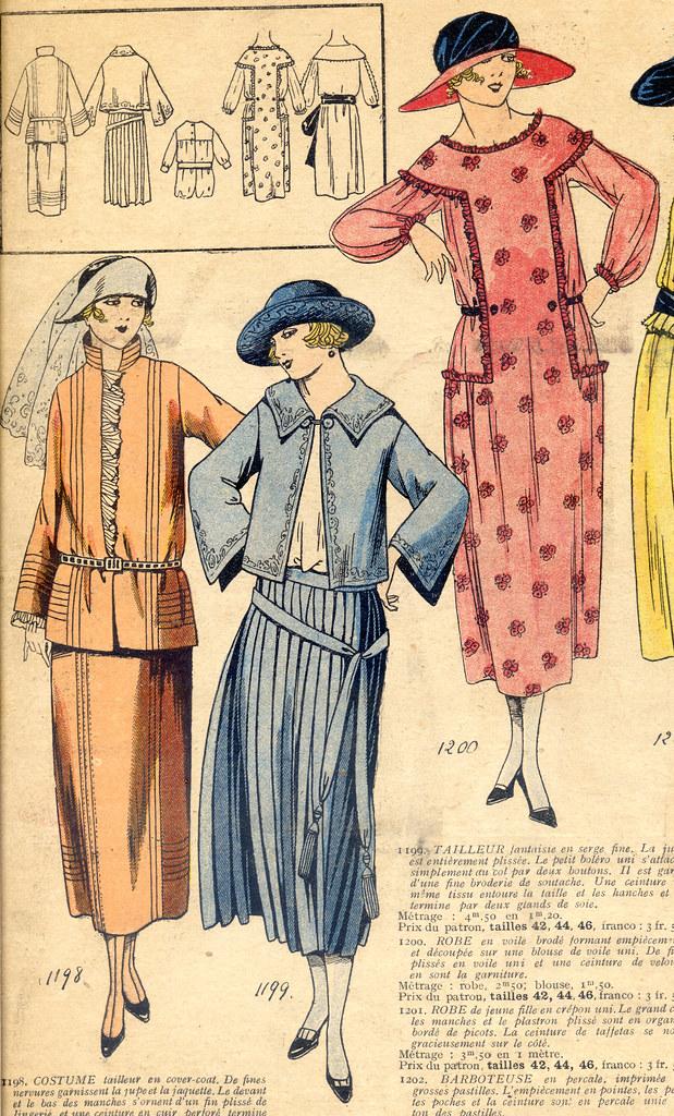 Les Dernières Modes de Paris, 1922