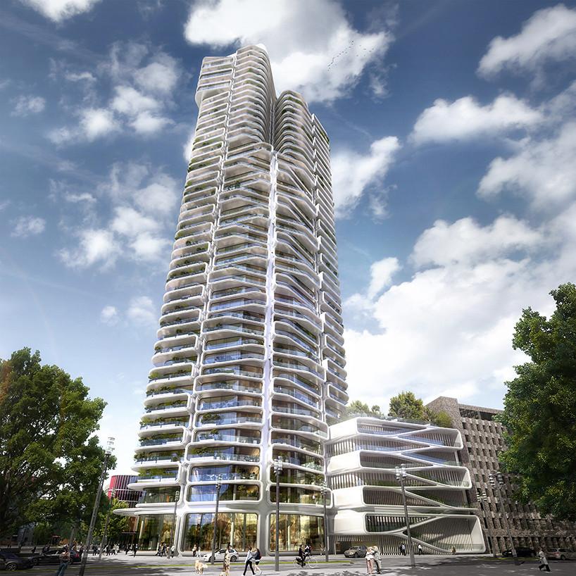 Стеклянная башня Grand Tower. Проект Magnus Kaminiarz & Cie