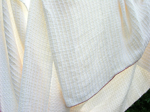 hand woven cotton blanket
