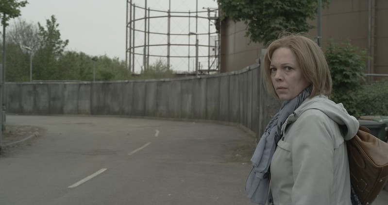 Olivia Colman is one of the residents on LONDON ROAD.