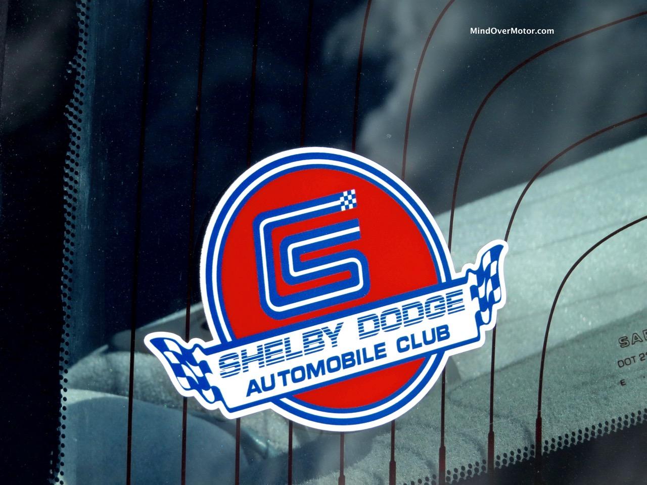1991 Dodge Spirit R:T Shelby Label