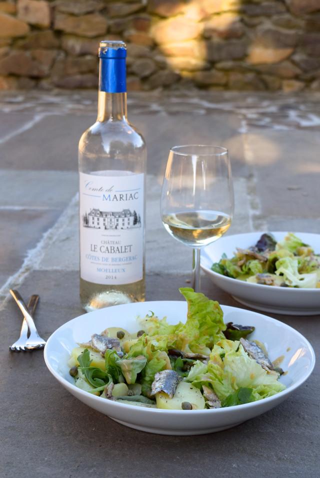 Anchovy, Caper & Potato Summer Salads | www.rachelphipps.com @rachelphipps