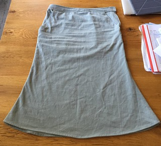 Sewing skirts, learning to.