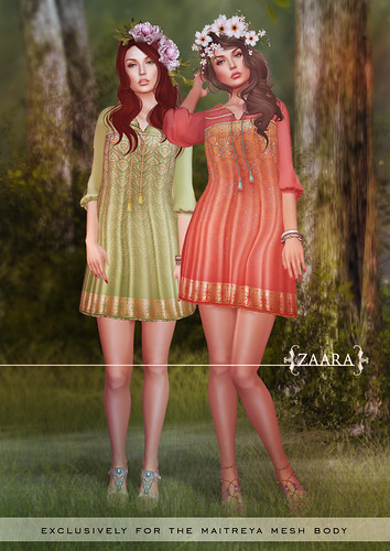 Zaara : Lekha boho dress
