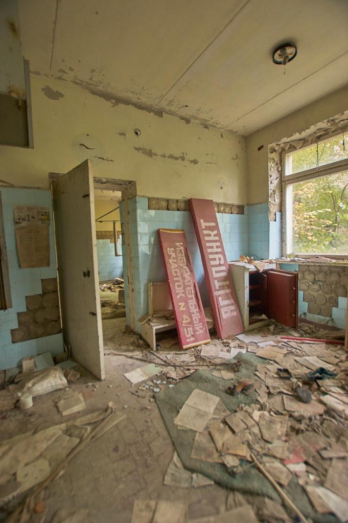 Hospital No. 126, Pripyat (Chernobyl Exclusion Zone) - Oct ...