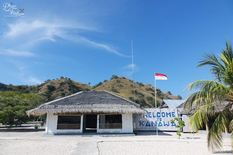 kanawa island welcome