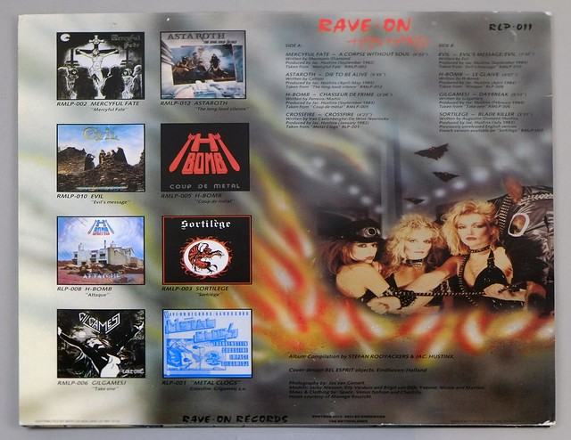 "VA RAVE-ON HITS HARD 12"" LP ALBUM VINYL"
