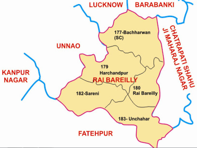 Rae Bareli district Uttar Pradesh Election 2017