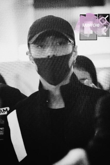 161016 Lay at Chengdu and Incheon Airport